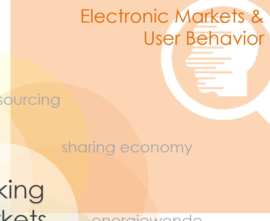 Electronic Markets & User Behavior